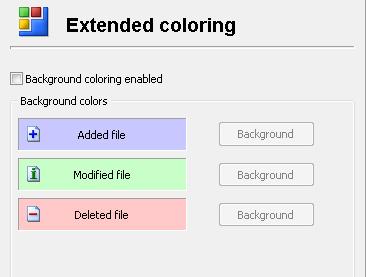 Comparison - Folder Color Scheme